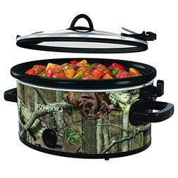 Crock-Pot 5-Quart Cook & Carry Oval Manual Portable Slow Coo
