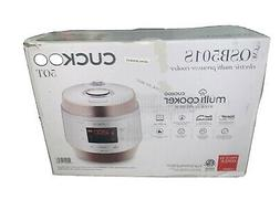 Cuckoo 5 Quart Electric Multi Pressure Cooker In White QSB50