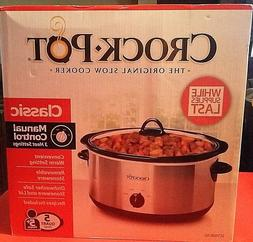 Crock-Pot 5-Quart Manual Slow Cooker