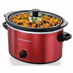 Hamilton Beach 5 Quart Portable Slow Cooker | Model# 33155 R