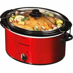 Hamilton Beach 5 Quart Portable Slow Cooker Perfect size for