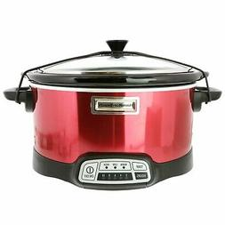 Hamilton Beach 5 Quart Programmable Slow Cooker with Chalkbo