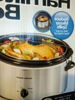 Hamilton Beach 5Quart Portable Slow Cooker.