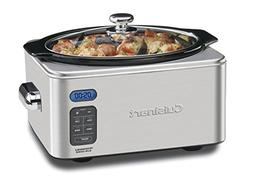 Cuisinart 6.5 Quart Programmable Slow Cooker with Multiple C