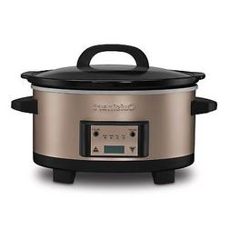 Cuisinart 6.5-Quart Programmable Stainless Steel Slow Cooker