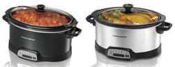 Hamilton Beach 6, 7-Quart Programmable Slow Cookers