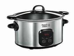 Russell Hobbs 6-Ltr 220-240 Volt Digital Slow cooker St Stee