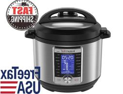 6 Qt 10-In-1 Multi- Use Programmable Pressure Cooker, Slow C