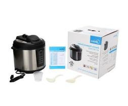 6-Qt. Black Midea Electric Power Pressure Cooker Stainless S