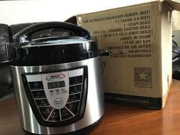 Power Pressure Cooker XL 6 Quart As Seen on TV Slow Cooker S