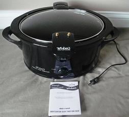 Rival 6-Quart Crock Pot Slow Cooker SCVS601