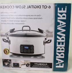 Farberware 6-Quart Programmable Digital Slow Cooker with Loc