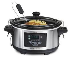 Hamilton Beach 6-Quart Programmable Slow Cooker 33969A Set F