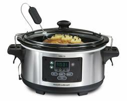 Hamilton Beach 6-Quart Slow Cooker, Programmable, Set  Forge