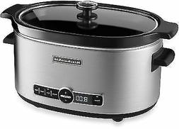 Kitchenaid ® 6-Quart Slow Cooker with Glass Lid
