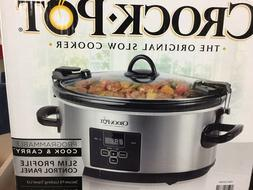 Crock-Pot 7.0-Quart Cook & Carry Programmable Slow Cooker