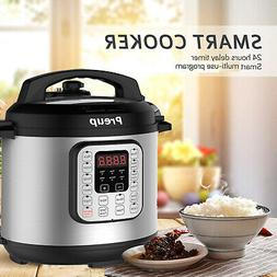 7-in-1 Multi-Function Pressure Cooker 6 Qt, Instant Programm