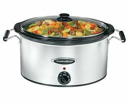 Hamilton Beach 7 Qt.Slow Cooker 33172  Dishwasher Safe Stone