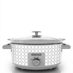 7-Quart Slow Cooker - Geometric
