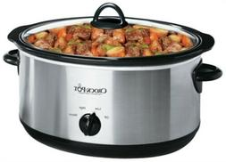 Sunbeam Products Inc 7QT SLV Slow Cooker