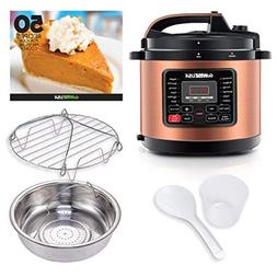 GoWISE USA GW22700 12-in-1 Electric Pressure Cooker with Acc