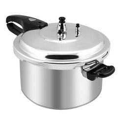 New 6-Quart Aluminum Pressure Cooker Fast Cooker Cookware Ki
