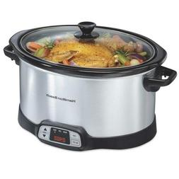 Hamilton Beach 8 Quart Programmable Countdown Slow Cooker  8