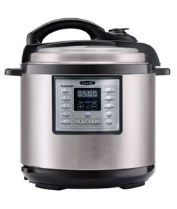 BELLA 8-Quart Programmable Electric Pressure Cooker and Slow