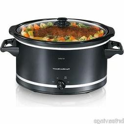 8 quart qt large slow cooker crock