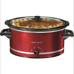 Hamilton Beach 8 Quart Qt Large Slow Cooker Crock Pot Crockp