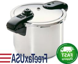 8-Quart Stainless Steel Pressure Cooker