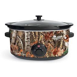 Nesco 8-quart Woodland Birch Slow Cooker; Camouflage Sc-8017