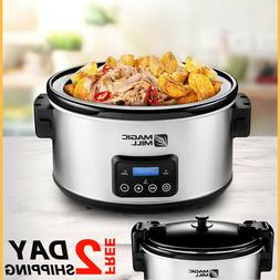 9qt Crock Pot 9qt Slow Cooker Big 10quart 9quart 8.5 Quart H