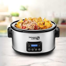 9qt Crock Pot Slow Cooker 9quart 9 Quart Big Crockpot qt Lar