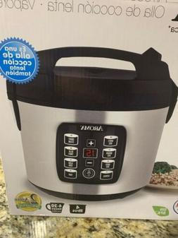 Aroma Digital Rice Cooker - Stainless Steel  ARC-1030SB