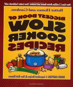 Biggest Book of Slow Cooker Recipes  Paperback August 19, 20