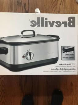 Breville BSC560XL Stainless-Steel 7-Quart Slow Cooker with E