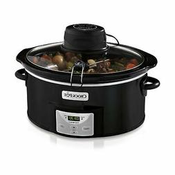 Crock-Pot SCCPVC600AS-B 6-Quart Digital Slow Cooker with iSt