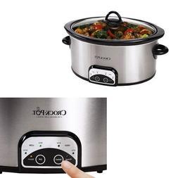 Crock-Pot SCCPVP700-S 7-Quart Programmable Slow Cooker