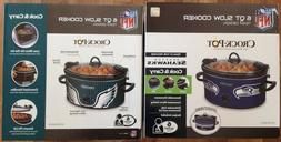 Crock-pot - Cook And Carry Seattle Seahawks 6-qt. Slow Cooke
