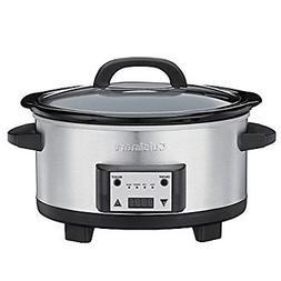 Cuisinart 6.5-Quart Programmable Slow Cooker, Makes Cooking