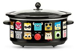 Disney DPX-7 Pixar Slow Cooker, 7 Quart, Black