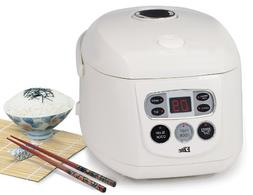 Elite Gourmet ERC-150 Maxi-Matic 8 Cup Programmable Rice Coo