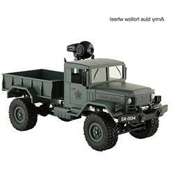 Gbell Off-Road Military Army Truck RC Car with WIFI 720P Cam
