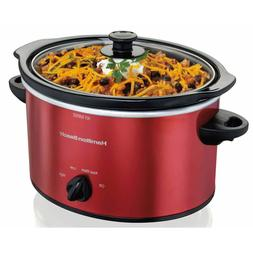 Hamilton Beach - 3-quart Slow Cooker - Red