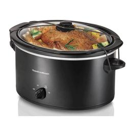 Hamilton Beach - 5-quart Portable Slow Cooker - Black