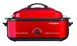 NESCO 4818-22, Anniversary Edition Roaster Oven, Red, 18 qua