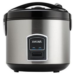 Professional 20-cup Stainless Steel Rice Cooker and Food Ste