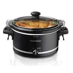 Stay or Go Slow Cooker, Clip - Tight Sealed Lid Locks, Dishw