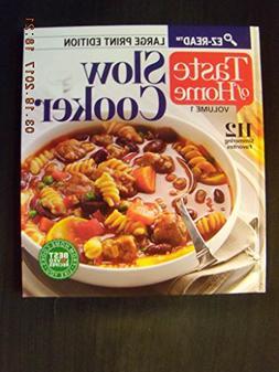 Taste Of Home Slow Cooker Volume 1 Large Print